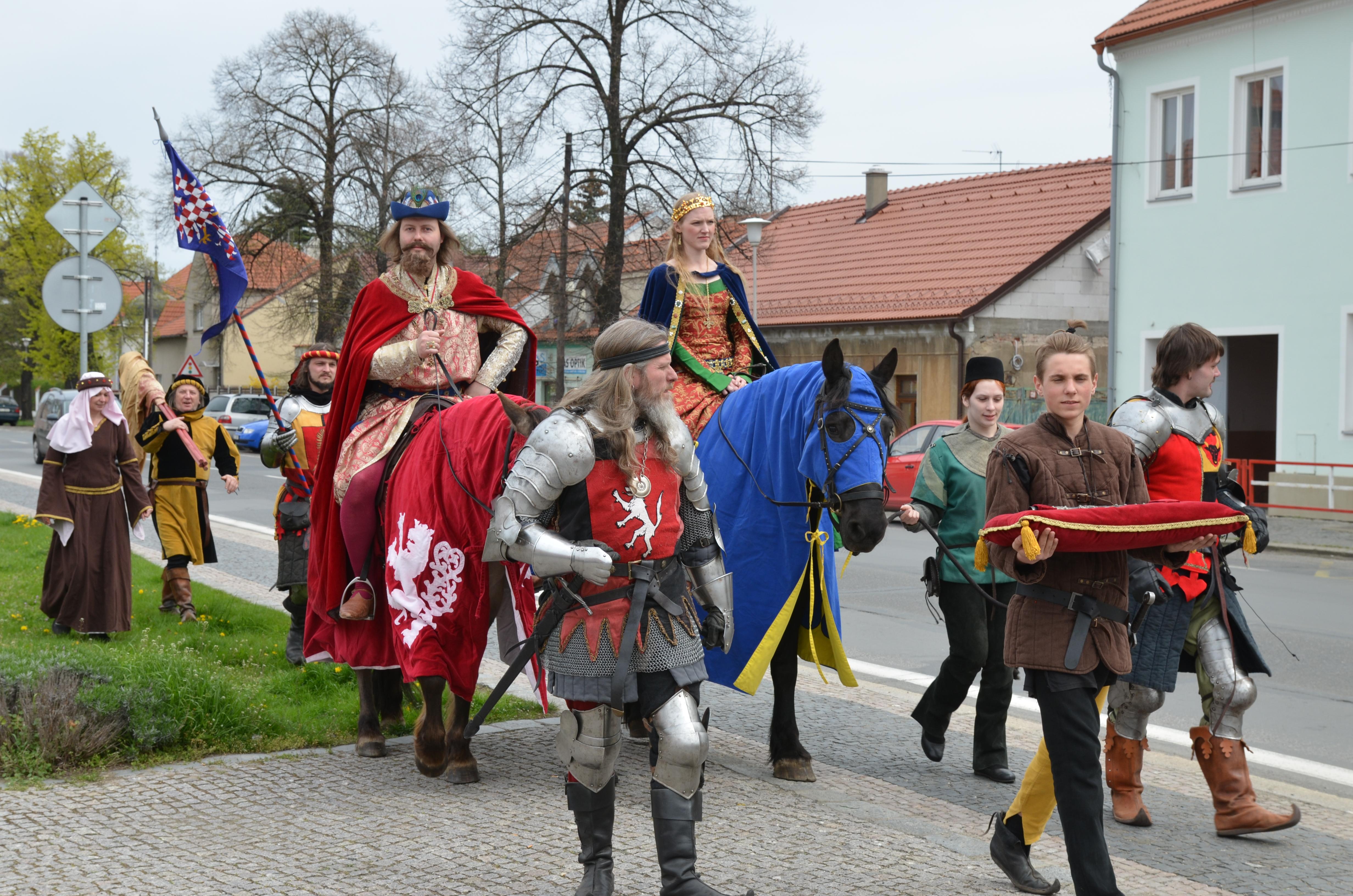 Karolinské slavnosti v Brandýse nad Labem
